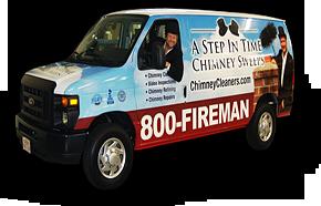 Chimney Service Van in Alexandria